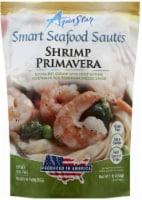 Aqua Star Smart Seafood Sautes Shrimp Primavera