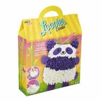 Alex Loopies Yarn and Plush Panda Kids DIY Craft Kit