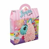 Alex Loopies Yarn and Plush Unicorn Kids DIY Craft Kit