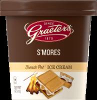 Graeter's S'mores French Pot Ice Cream - 1 pt