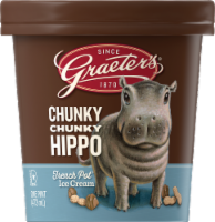 Graeter's Chunky Chunky Hippo Limited Edition Ice Cream