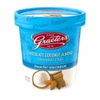 Graeters Limited Edition Coconut Almond Ice Cream - 1 pt