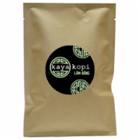 Premium Kaya Kopi Lam Dong Bao Loc Region Energy Strong Robusta Coffee Beans (10 Grams) - 1 Count
