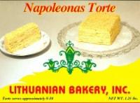 Lithuanian Bakery Napoleon's Torte