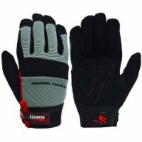 Big Time Products 242213 Mens Master Mechanic Black General Purpose Glove, Large - 1