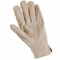 Big Time Products 241959 Mens Master Rancher Medium Full Cowhide Suede Leather Work Glove - 1