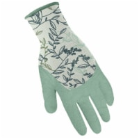 Digz Latex Coated Garden Gloves L Latex Coated Stretch FIt Gray/Orange Gardening Gloves - - Count of: 1
