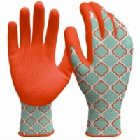 Big Time Products 242588 Womens Large Digz Honeycomb Dip Garden Gloves - 1