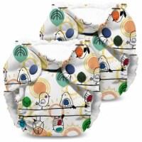 Kanga Care Lil Joey Newborn All in One AIO Cloth Diaper (2pk) Tweet 4-12lbs - Newborn