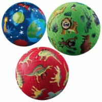 """Crocodile Creek Colorful 4"""" and 7"""" Playground & Play Balls - Styles May Vary - Set of 3"""