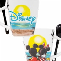 Disney 49221 Disney Mickey Mouse Sunset Mug with Spoon - 1