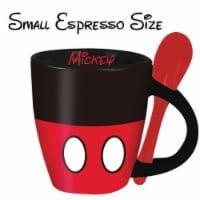 Disney 49207 Disney Mickey Mouse Espreso Cups with Spoon - 1