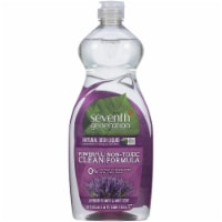 Seventh Generation Lavender Flower & Mint Scent Liquid Dish Soap