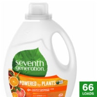 Seventh Generation Fresh Citrus Scent Natural Laundry Detergent