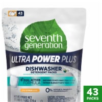 Seventh Generation Ultra Power Plus Fresh Citrus Scent Dishwasher Detergent Packs