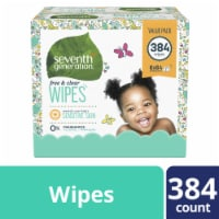 Seventh Generation  Free & Clear Baby Wipes Fragrance Free