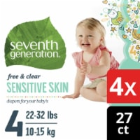 Seventh Generation Free & Clear Size 4 Diapers