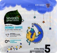 Seventh Generation Free & Clear Overnight Size 5 Diapers