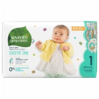 Seventh Generation Free & Clear Sensitive Skin Size 1 Diapers
