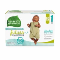 Seventh Generation Size 1 Diapers