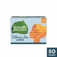 Seventh Generation Free and Clear Chlorine Free Light Pantiliners