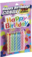 Birthday Spiral Candles