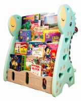 TR LAYNE Cute Giraffe Plastic Book Shelf Organizer for kids bedroom.