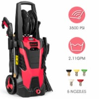 Costway 3500 PSI 2.1GPM Electric Pressure Washer High Power Water Cleaner W/ 5 Nozzles