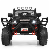 Costway 12V Kids Ride On Truck Car MP3 RC Remote Control w/ LED Lights Music - 1 unit