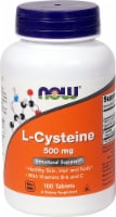 NOW Foods  L-Cysteine - 500 mg - 100 Tablets