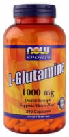 NOW Foods  Sports L-Glutamine - 1000 mg - 240 Capsules