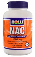 NOW Foods  NAC - 1000 mg - 120 Tablets