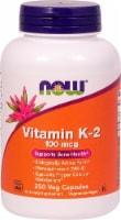 NOW Foods Vitamin K-2 Veg Capsules 100mcg - 250 ct