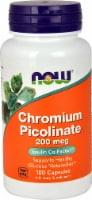 NOW Foods  Chromium Picolinate - 200 mcg - 100 Capsules