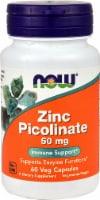 NOW  Zinc Picolinate - 50 mg - 60 Capsules