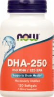 NOW Foods DHA-250 High Potency Softgels 120 Count - 120 ct