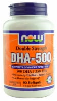 NOW Foods DHA-500 Softgels - 90 ct