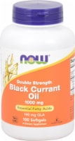 NOW Foods Double Strength Black Currant Oil Softgels 1000mg - 100 ct