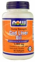 NOW Foods  Cod Liver Oil - 1000 mg - 90 Softgels