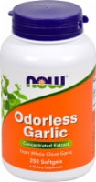 NOW Foods Odorless Garlic Concentrated Extract Softgels - 250 ct