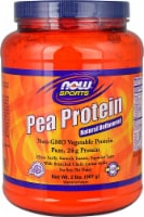 NOW   Sports Pea Protein   Natural Unflavored - 2 lbs