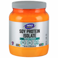 NOW Sports Soy Protein Isolate Protein Powder