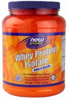 NOW   Sports Whey Protein Isolate   Creamy Vanilla - 1.8 lbs
