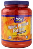 NOW   Sports Whey Protein Isolate   Dutch Chocolate - 1.8 lbs