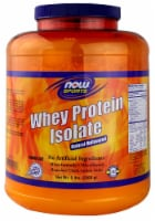 NOW Foods  Sports Whey Protein Isolate   Natural Unflavored - 5 lbs