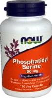NOW Foods Phosphatidyl Serine Veg Capsules 100mg