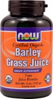 NOW Foods Organic Barley Grass Juice Powder - 4 oz