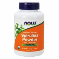 NOW Foods Certified Organic Spirulina Powder - 4 oz