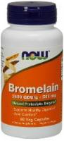 Now Bromelain 500mg Vegetarian Capsules - 60 ct