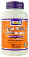 NOW Foods Acid Relief with Enzymes Chewables